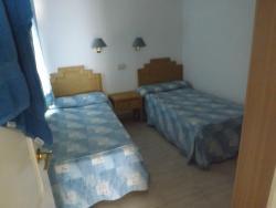 Mała sypialnia.