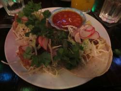 Fish tacos at Joe Jack's