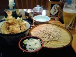 Tempura bowl Tenya Tachigawa