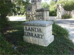 Landa Library Gardens