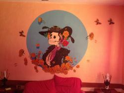 Peinture de la chambre