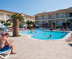 The Second Pool at the Filoxenia Hotel