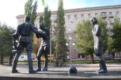 Monument to the Young Communist Defenders of Stalingrad