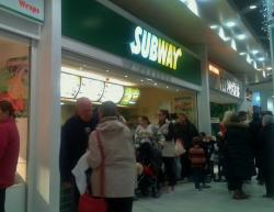 ‪Subway - Lowry Outlet Mall‬