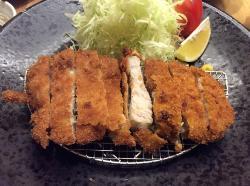 银胜とんかつ日式炸猪排
