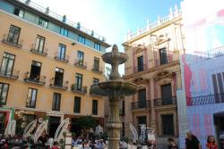 Plaza del Obispo de Málaga