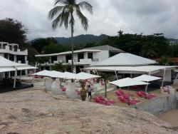 View of pool snd and beach area
