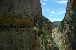 Mont-Rebei Gorge