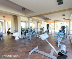 Fitness Center Aquafitness at the Aqualux Hotel Spa Suite & Terme