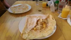 Crepes to die for!