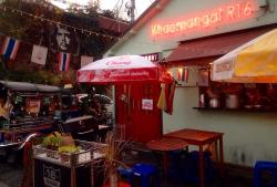 Bangkok food stand Khao Man Kai No. 16
