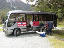 ‪Milford Sound BBQ Bus‬