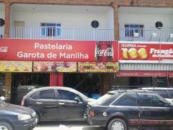 Pastelaria e Pizzaria Garota De Manilha.