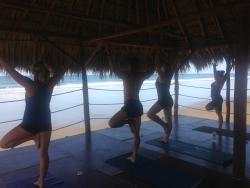 My fave place - the yoga deck