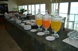 Café da manhã hospedes Krystal Club