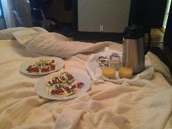 Breakfast in bed was a definite highlight - thank you Owen!!