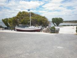 Entry to Venus Bay Caravan Park