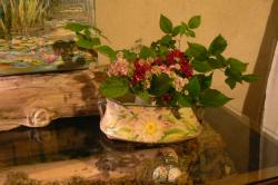 décoration fleurie