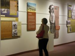 'We're Still Here' traveling exhibition hosted by the Museum in 2014
