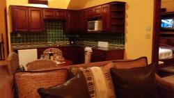 The kitchen portion of my room/suite.
