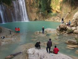 Ngelirip Waterfall