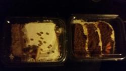 Take away cakes
