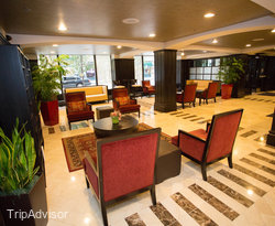 Lobby at the Hotel Blake Chicago