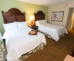 The Double Full Suite at the Hampton Inn & Suites San Juan