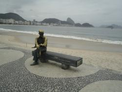 Estatua Carlos Drummond de Andrade
