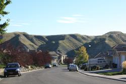 Sitting in the valley of the coulees