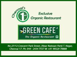 Green Cafe,The Organic Veg Restaurant