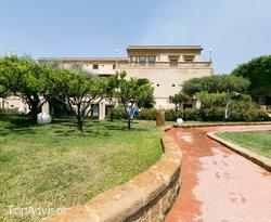 Garden at the Hotel Villa Athena