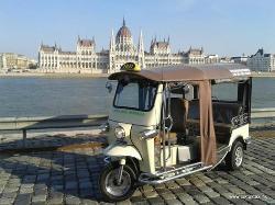 TukTuk Taxi Budapest