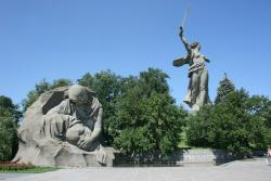 'The Motherland Calls' Sculpture