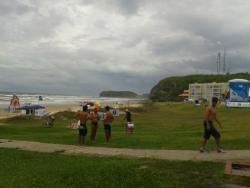 Na praia próximo Hotel