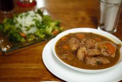 Pork and Chicken Stew, 3rd Course