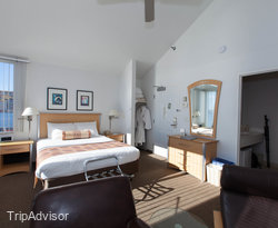 The One Room Waterfront Suite at the South Pier Inn on the Canal