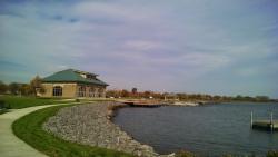 Nearby Seneca Lake & visitor center.