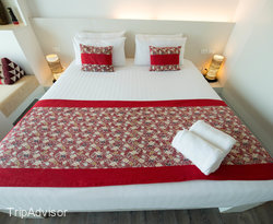 The Deluxe Room at the Aonang Cliff Beach Resort