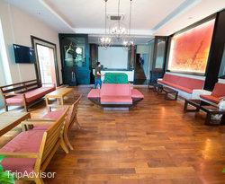 Lobby at the Aonang Cliff Beach Resort