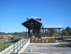 Plant City Train Viewing Platform
