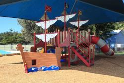 Shaded Childrens playground