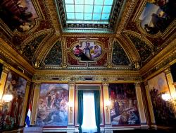 Croatian Institute of History - The Golden Hall