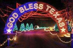full view - College Station Christmas Lights Park