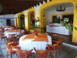 Zona exterior del restaurante