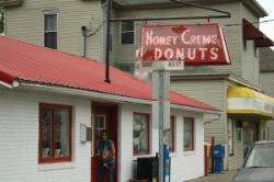 Honey Creme Donut Shop