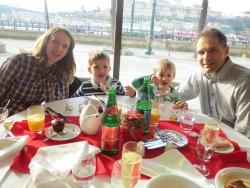 Family brunch with great view