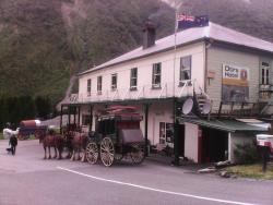 the stage coach at Otira