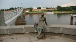 Monument Girl-Tourist