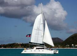 Catamaran Sailing Antigua